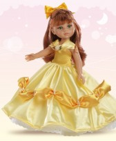 Lelle CRISTI Princesa Amarillo Paola Reina 04571