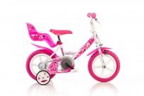 Meiteņu velosipēds Dino bikes Little Heart 12