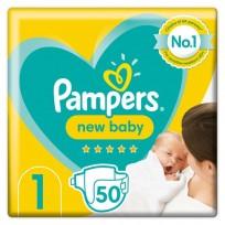 Autiņbiksītes Pampers New Baby 1,50 gb. (2-5kg)