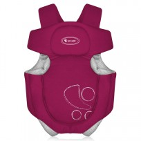 Ķengurusoma  Lorelli Classic baby carriers RED
