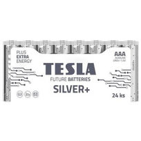 Baterijas SILVER+ AAA LR03, Tesla