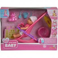 NEW BORN Baby komplekts ar ratiem no 3g.+ SIMBA 105030928