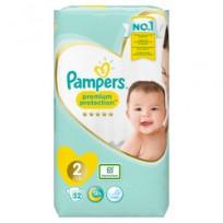 Autiņbiksītes Pampers Premium protection 2 izm.-52 gb. (4-8 kg.)