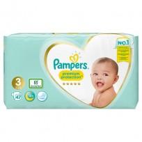 Autiņbiksītes Pampers Premium protection 3 izm.-47 gb. (6-10 kg.)