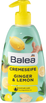 Šķidrās krēmziepes Balea Ginger & Lemon, 500 ml