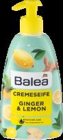 Šķidrās krēmziepes Balea Ginger & Lemon, 500 ml