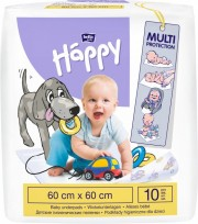 Paladziņi bērniem 10 gab. (60x60cm) HAPPY