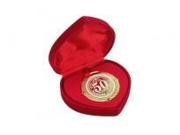 Medaļa dāvanu kastītē Zelta kāzas -50gadi, 17277