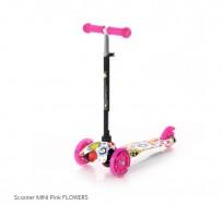 Skrejritenis Lorelli Mini Pink Flowers 10390010001