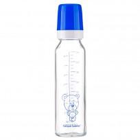 Pudele stikla 240 ml Blue Canpol 101