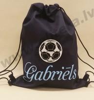Bērnu sporta soma ar personalizētu izšuvumu Nr 2134