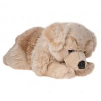Mīkstā rotaļlieta zelta retrīvers 40  cm- Uni -Toys, M7021