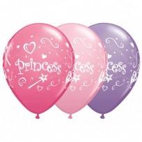 Baloni  QUALATEX ar Princese 28cm,