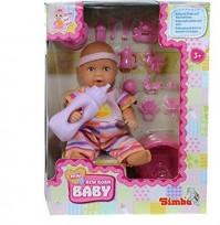 NEW BORN BABY mini kom-ts ar podiņu 3.g.+ 53195 SIMBA