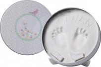 Baby Art Magic Box komplekts mazuļa pēdiņu/rociņu nospieduma izveidošanai, ...