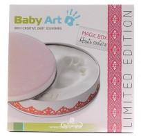 """Baby Art Magic Box """"Haute couture"""" komplekts mazuļa pēdiņu/rociņu nospiedum..."""