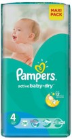 Pampers Active Baby-Dray 4(8-14kg)58gb