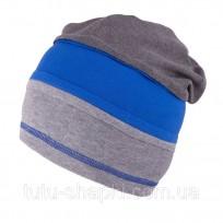 Cepure TuTu zēnam 3-004609 SILVER-TURQUOISE ,izm.54 cm.