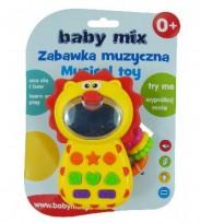 Lauva -telefoniņš ar mūziku 0680 Baby Mix  0m+