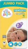 Little Angels Newborn autiņbiksītes -  2 Mini (3-6kg) 60 gb.72419