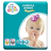 Autiņbiksītes Little Angels comfort&protect 3 (4-9kg) 98 gb