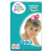 Autiņbiksītes Little Angels comfort&protect 4+ (9-20kg) 78gb.