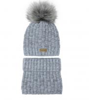Bērnu adīta cepure+golfs,48-52 cm,AJS 40-435