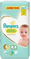 Pampers Premium Protection 4 ( 8-16kg.) 54gb.  ( autiņbiksītes )