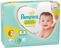 Autiņbiksītes Pampers New Baby 2 Mini (3-6kg.) 31gb.  ( autiņbiksītes )