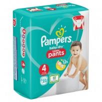 Autiņbiksītes -biksītes Pampers Baby Dry pants izm.4.-23gb.(9-15 kg.)
