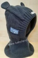 Bērnu adīta cepure TUTU izm.48-52 navy blue,3-004793
