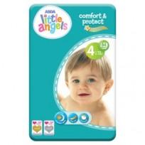 Autiņbiksītes Little Angels comfort&protect 4 (7-18kg) 84 gb.