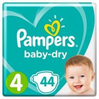 Pampers autiņbiksītes baby dry izm. 4 (8-16kg) 44gb 89539
