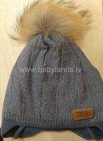 Bērnu adīta cepure TUTU izm.40-44,44-48cm.,3-004777  blue