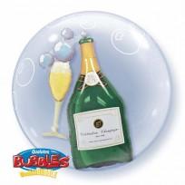 Bubbles balons 2 in 1  Double Bubble 61 cm