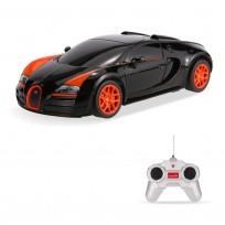 Radiovadāmā mašīna  Bugatti Veyron Rastar art.47000  1:24,  6+