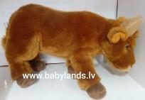 Govs ar balsi 25cm UNI-TOYS mīkstā rotaļlieta,M7957
