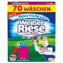 Weiser Reise veļas pulveris Color 3.85kg 70 mazg. reizēm
