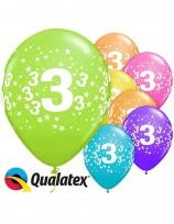 Baloni QUALATEX Cipari -