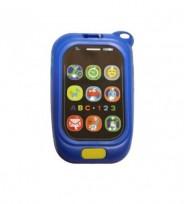 Muzikālā rotaļlieta TELEFONS BabyMix 0880 blue  6M+