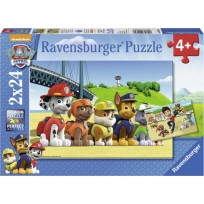 Puzzle  2x24 Suņu Patruļa 4+,Ravensburger R09064