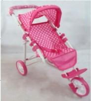 Leļļu ratiņi BabyMix 9326C-M1505W