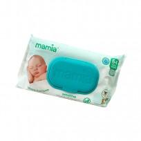 Mitrās salvetes Mamia Baby Wipes - Fragranced (64) Sensitive