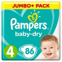Autiņbiksītes Pampers Baby Dry
