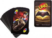 MATTEL UNO BATMAN & SUPERMAN kāršu spēle DRL58