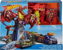 Mattel Hot Wheels Dragon Snowdown DWL04 Trase -Kauja ar drakonu