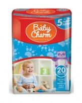 Biksītes Baby Charm Pants 5 Junior, 12-15kg, 20 gab