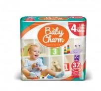 Autiņbiksītes Baby Charm 4 Maxi 7-18 kg, 37 gab