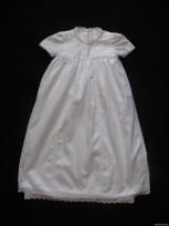 Bērnu kleitiņa krīstībam no 100% kokvilna