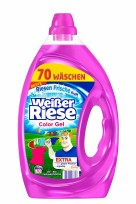 Weiser Riese krāsu veļas mazgāšanas želeja pret traipiem 70 devām 3.5L